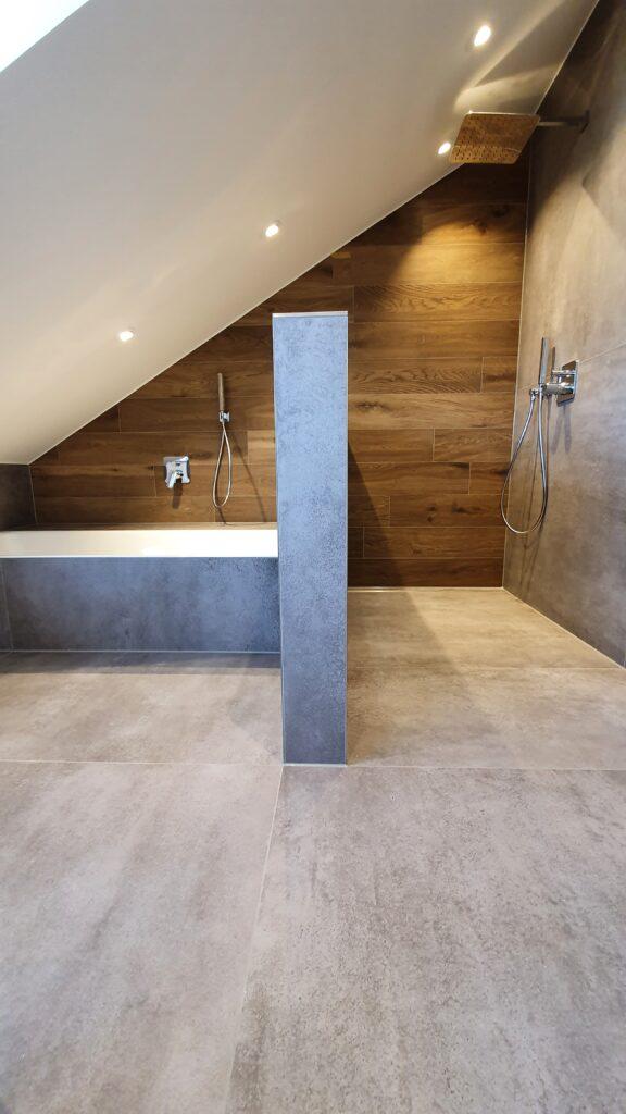 Dusche, bodeneben, Bad, Dachgeschoss, Badewanne, Einbau-Badewanne, Widmann, Markdorf